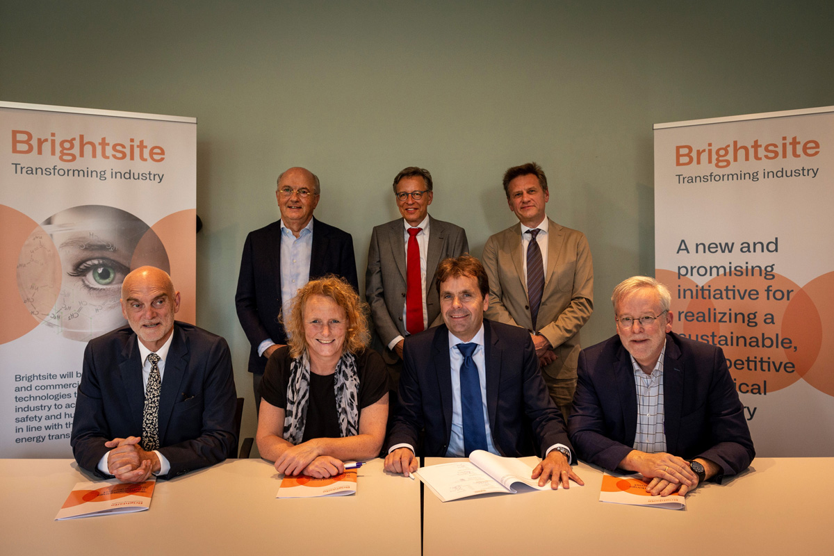 Signing of the cooperation agreement with the Steering committee